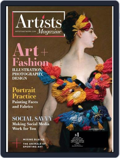Artists July 19th, 2018 Digital Back Issue Cover