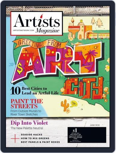 Artists June 1st, 2018 Digital Back Issue Cover