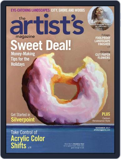 Artists (Digital) November 1st, 2017 Issue Cover