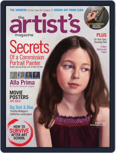 Artists March 1st, 2017 Digital Back Issue Cover