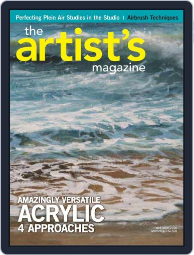 Artists (Digital) September 30th, 2016 Issue Cover