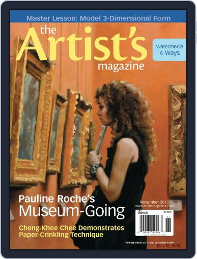 Artists September 17th, 2013 Digital Back Issue Cover