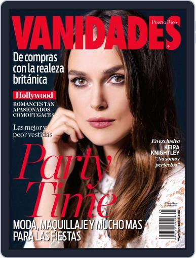 Vanidades Puerto Rico (Digital) December 1st, 2014 Issue Cover