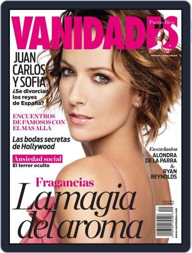 Vanidades Puerto Rico (Digital) October 6th, 2014 Issue Cover