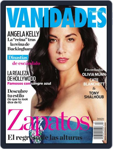 Vanidades Puerto Rico (Digital) August 11th, 2014 Issue Cover