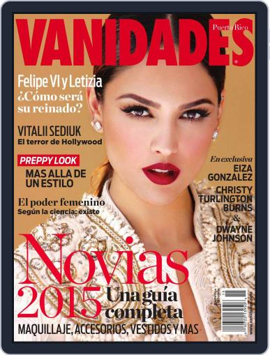 Vanidades Puerto Rico July 14th, 2014 Digital Back Issue Cover