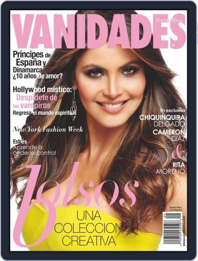 Vanidades Puerto Rico (Digital) April 21st, 2014 Issue Cover