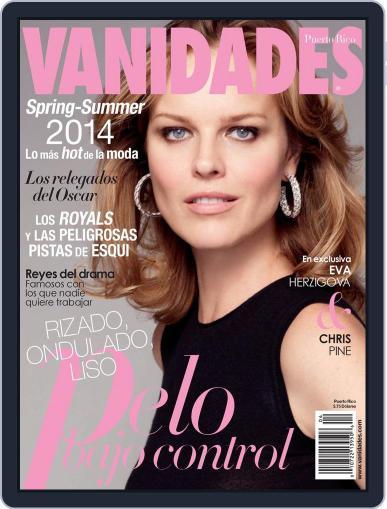 Vanidades Puerto Rico (Digital) February 10th, 2014 Issue Cover