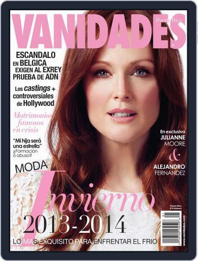 Vanidades Puerto Rico (Digital) October 7th, 2013 Issue Cover