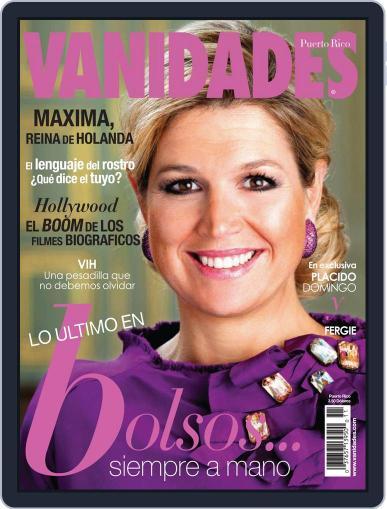 Vanidades Puerto Rico May 20th, 2013 Digital Back Issue Cover