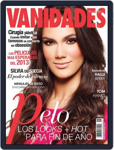 Vanidades Puerto Rico November 30th, 2012 Digital Back Issue Cover