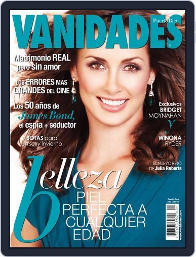Vanidades Puerto Rico (Digital) November 2nd, 2012 Issue Cover