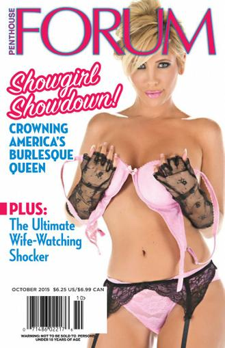 Penthouse Forum September 15th, 2015 Digital Back Issue Cover