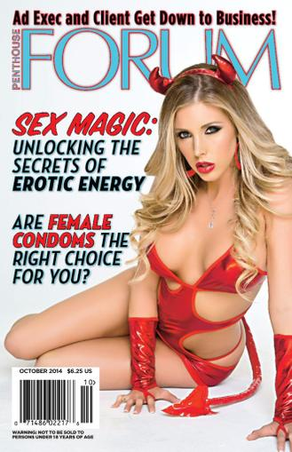Penthouse Forum October 15th, 2014 Digital Back Issue Cover