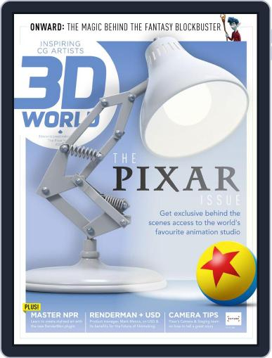 3D World August 1st, 2020 Digital Back Issue Cover