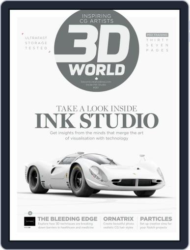 3D World July 1st, 2020 Digital Back Issue Cover