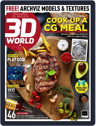 3D World May 1st, 2020 Digital Back Issue Cover