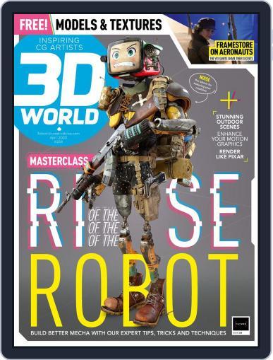 3D World April 1st, 2020 Digital Back Issue Cover