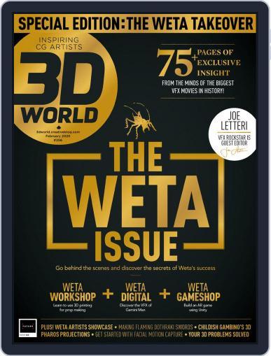 3D World February 1st, 2020 Digital Back Issue Cover
