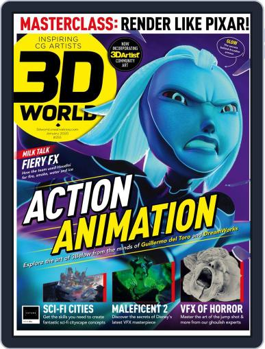 3D World January 1st, 2020 Digital Back Issue Cover