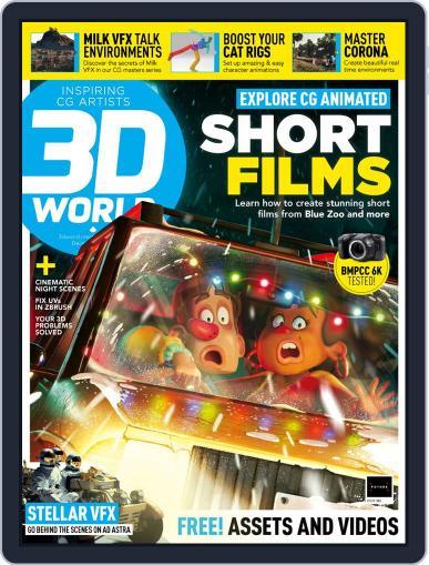 3D World December 1st, 2019 Digital Back Issue Cover