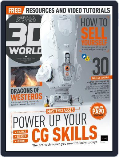 3D World November 1st, 2019 Digital Back Issue Cover