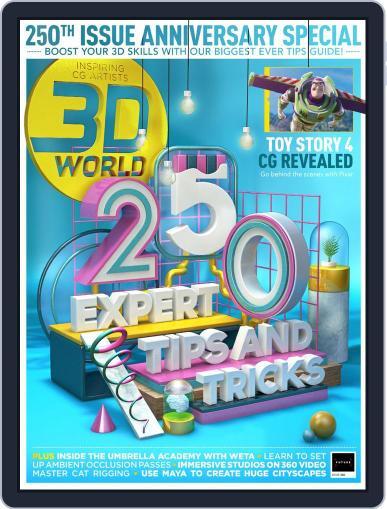 3D World September 1st, 2019 Digital Back Issue Cover