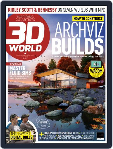 3D World May 1st, 2019 Digital Back Issue Cover