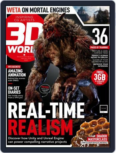 3D World February 1st, 2019 Digital Back Issue Cover