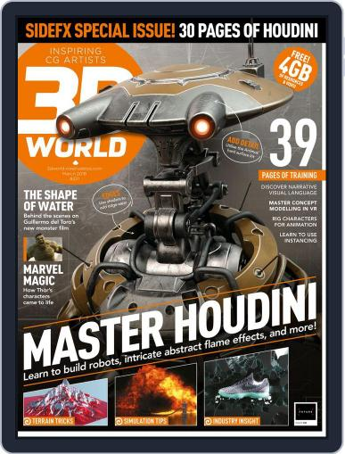 3D World March 1st, 2018 Digital Back Issue Cover