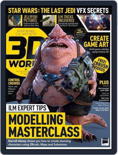 3D World (Digital) February 1st, 2018 Issue Cover