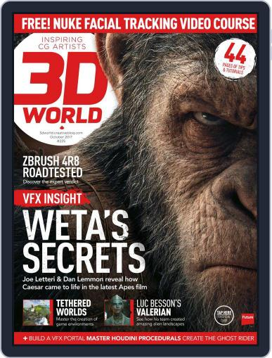 3D World (Digital) October 1st, 2017 Issue Cover