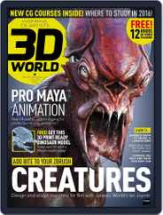 3D World (Digital) Subscription April 20th, 2016 Issue