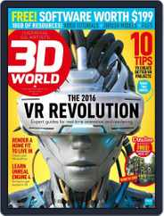 3D World (Digital) Subscription December 2nd, 2015 Issue