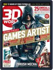 3D World (Digital) Subscription August 1st, 2015 Issue
