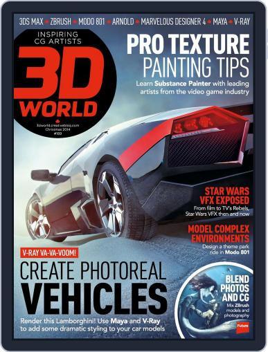 3D World November 3rd, 2014 Digital Back Issue Cover