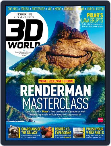 3D World October 6th, 2014 Digital Back Issue Cover