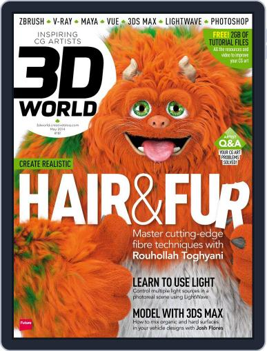 3D World March 24th, 2014 Digital Back Issue Cover