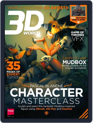 3D World January 27th, 2014 Digital Back Issue Cover