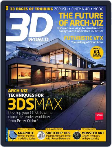 3D World January 28th, 2013 Digital Back Issue Cover