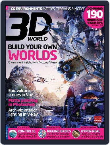 3D World November 5th, 2012 Digital Back Issue Cover