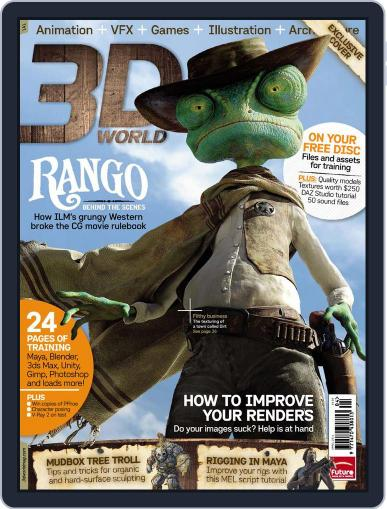 3D World March 13th, 2011 Digital Back Issue Cover