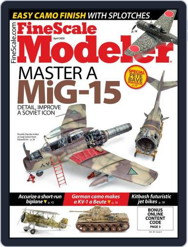 FineScale Modeler (Digital) April 1st, 2020 Issue Cover