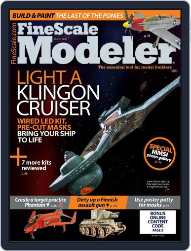 FineScale Modeler (Digital) March 1st, 2020 Issue Cover