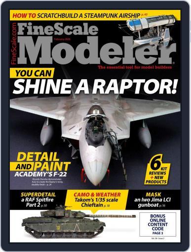 FineScale Modeler (Digital) February 1st, 2020 Issue Cover