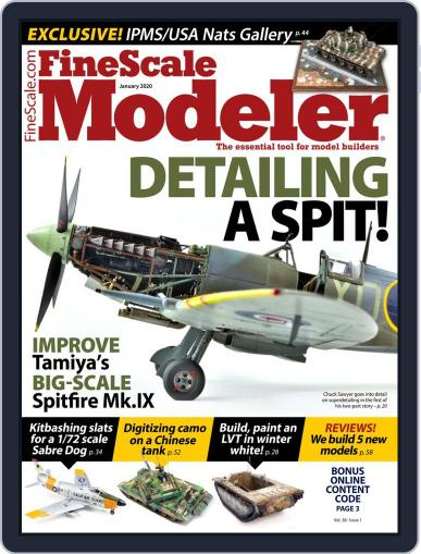 FineScale Modeler (Digital) January 1st, 2020 Issue Cover