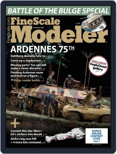 FineScale Modeler (Digital) December 1st, 2019 Issue Cover