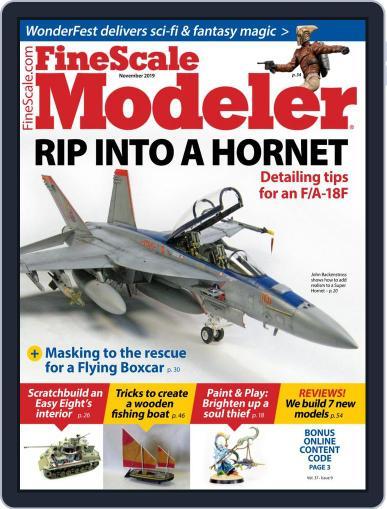 FineScale Modeler (Digital) November 1st, 2019 Issue Cover