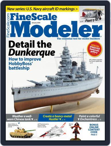 FineScale Modeler January 1st, 2019 Digital Back Issue Cover