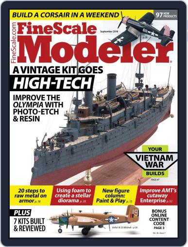 FineScale Modeler (Digital) July 27th, 2018 Issue Cover